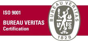 Logo ISO certificatie Veritas