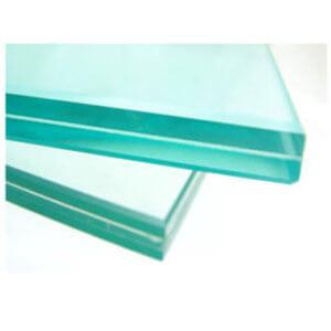 Heat shielding glass